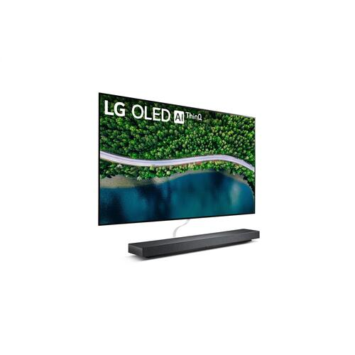 LG WX 65 inch Class Wallpaper 4K Smart OLED TV w/ AI ThinQ® (64.5'' Diag)