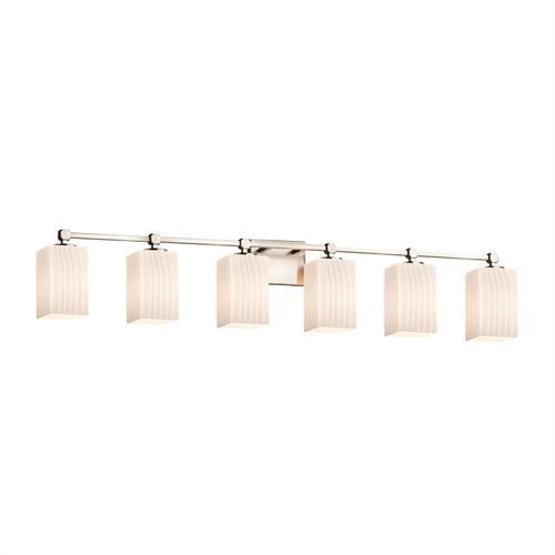 Tetra 6-Light Bath Bar