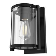 See Details - Astwood 1 Light Wall Sconce - Matte Black - Clear