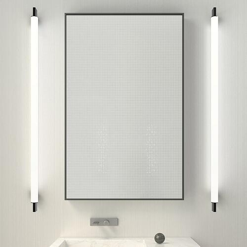 "Sonneman - A Way of Light - Keel LED Bath Bar [Size=28"", Color/Finish=Bright Satin Aluminum]"