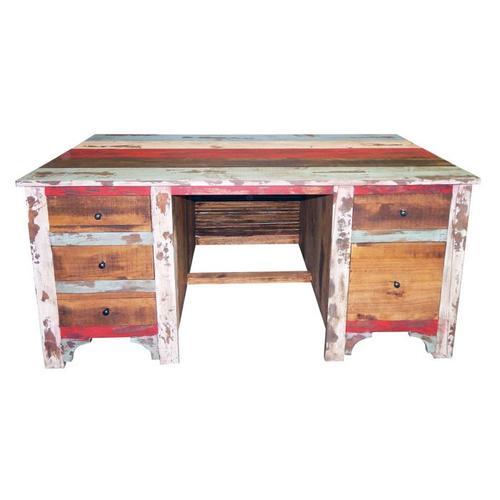 Multi Louvered Executive Desk