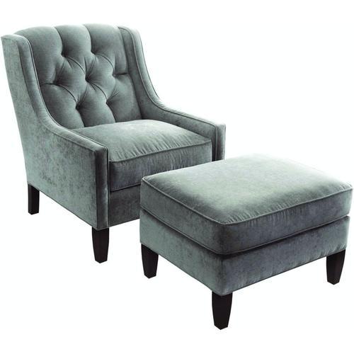 Braxton Culler Inc - Merrill Chair and Ottoman