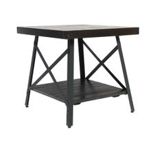 Chandler End Table, Espresso Brown T100-1d