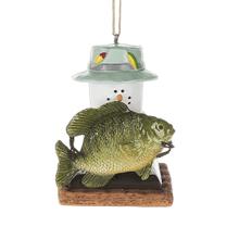 S'mores Fish Ornament
