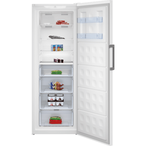 "28"" White Upright Freezer"