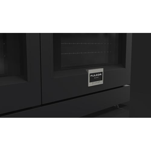 "Fulgor Milano - 48"" Black Velvet Color Kit"