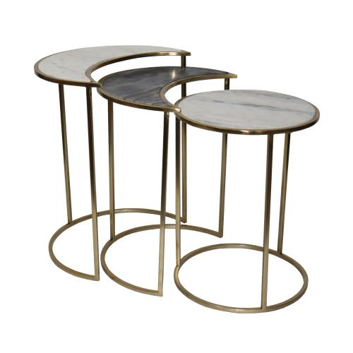 Astronomy Marble Nested Tables