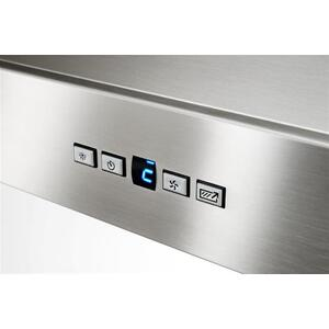 "Colonne - 42"" Stainless Steel Chimney Range Hood with a choice of Exterior or In-line blowers"
