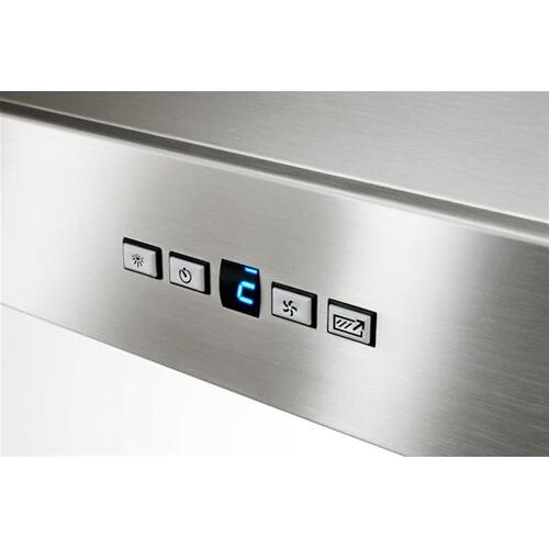 """BEST Range Hoods - WPP9 - 42"""" Stainless Steel Chimney Range Hood with a choice of Exterior or In-line blowers, 300 to 1650 Max CFM"""