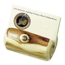 See Details - Business Card Holder - Natural Cedar