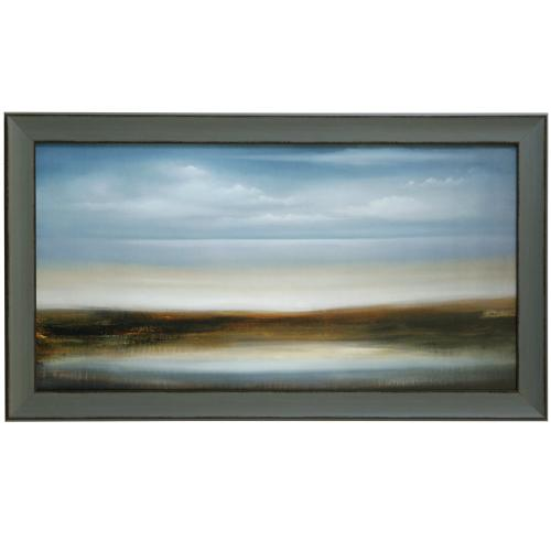 Style Craft - SCOPE 309  30in X 52in  Made in the USA  Textured Framed Print