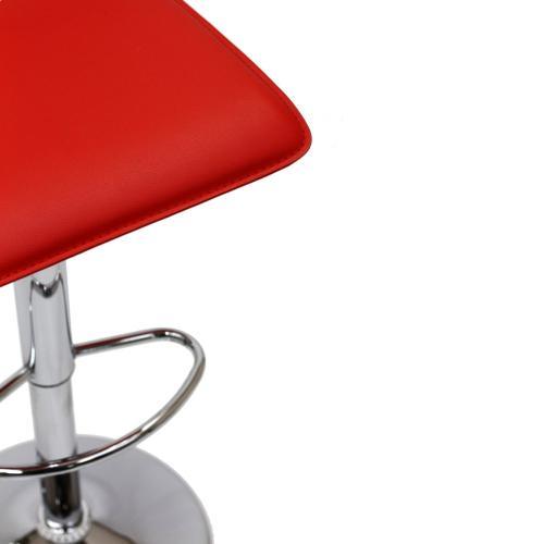 Gloria Bar Stool in Red