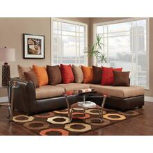 2 PC Sectional and Ottoman