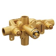 "M-Pact Moentrol ® 1/2"" cc connections includes pressure balancing with check stops and volume control"