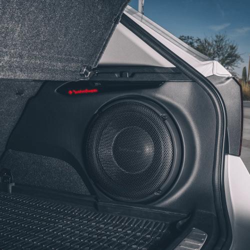 "Rockford Fosgate - Power 10"" T1 Slim Single 1-Ohm Subwoofer"