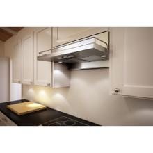 """30"""" Terazzo Undercabinet Hood with 400 CFM Blower, 3 Speed Levels"""