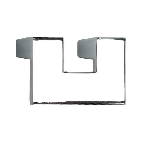 U Turn Knob 1 1/4 Inch (c-c) - Polished Chrome
