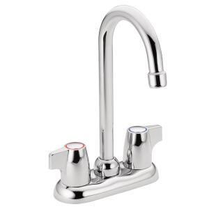 Chateau chrome two-handle bar faucet Product Image
