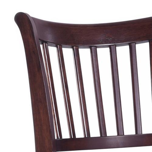 Spencer 24 inch Wood Swivel Barstool