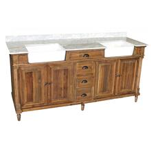 Reclaimed Pine Double Farmhouse Vanity