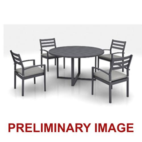 Slat Back Outdoor Dining Chairs (4 per carton)