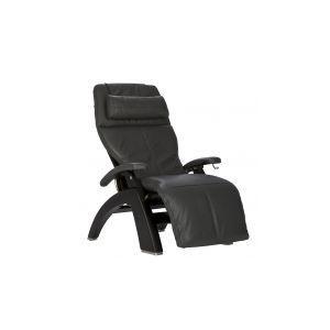 Perfect Chair ® PC-420 Classic Manual Plus - Matte Black - Gray Premium Leather