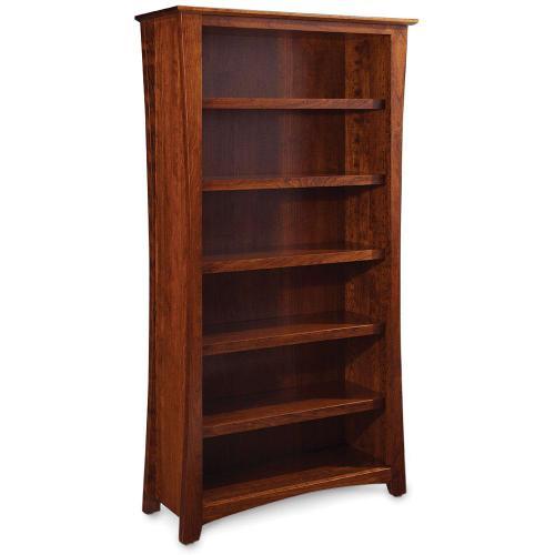 Gallery - Loft Open Bookcase, 4 Adjustable Shelves