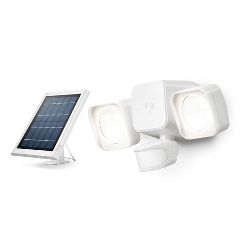 Ring - Smart Lighting Solar Floodlight - Black
