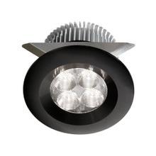 24v Dc,8w Black LED Cabinet Light