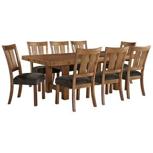9 Piece Set (Table and 8 Chairs)