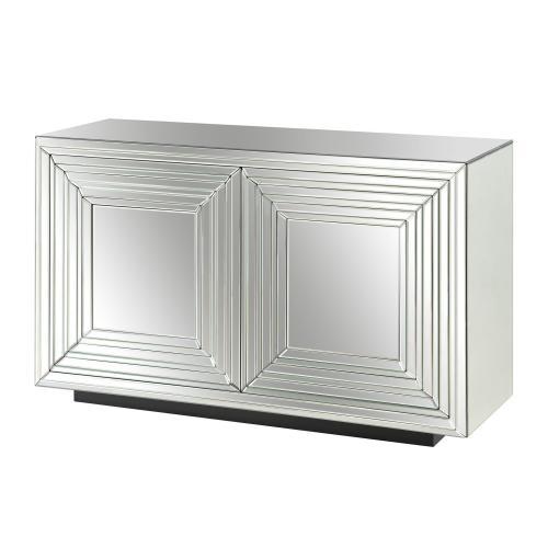Crestview Collections - Millenium 2 Door Mirrored Cabinet