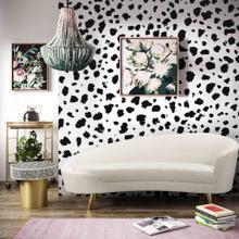 View Product - Cleopatra Cream Velvet Sofa