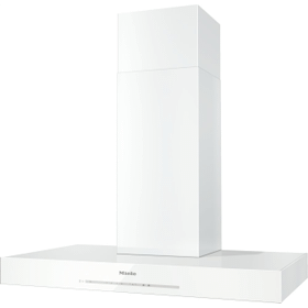 DA 6698 W Puristic Edition 6000 - Wall ventilation hood with energy-efficient LED lighting and touch controls for simple operation.
