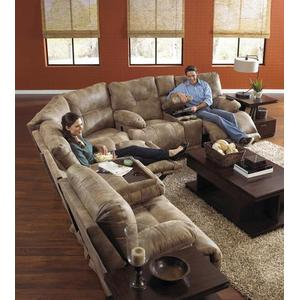 Catnapper43845sg By Catnapper At Schewels Home Va Catnapper 43845sg 3 Piece Voyager Sectional Reclining Sofa Reclining Loveseat Wedge Group