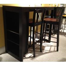 See Details - STORAGE BAR TABLE W/ 2 STOOLS