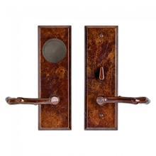 Product Image - Rectangular Card Lock Trim White Bronze Light