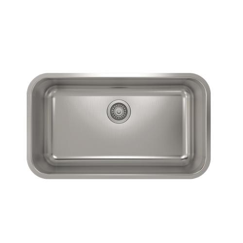 Pro Chef - ProInox E200 Single Bowl Undermont Kitchen Sink ProInox E200 18-gauge Stainless Steel, 29'' x 16 '' x 9''