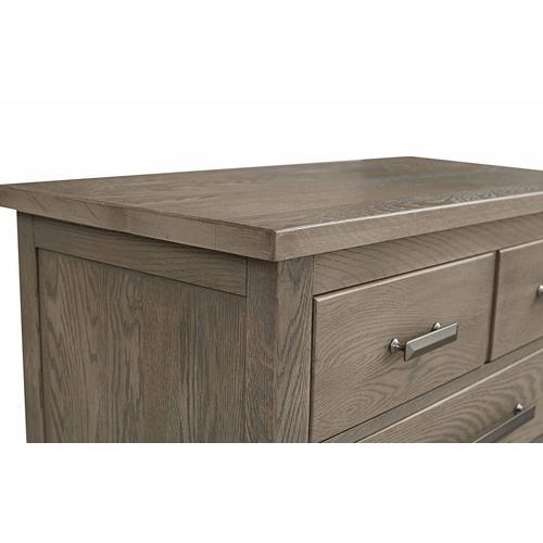 Bassett Furniture - Abingdon Oak 5 Drawer Chest