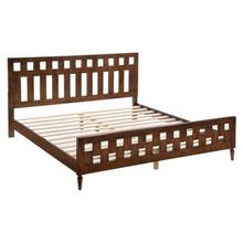 See Details - La King Bed Walnut