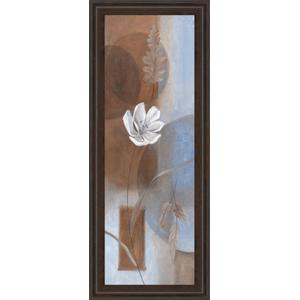 """""""White Flower I"""" Framed Print Wall Art"""