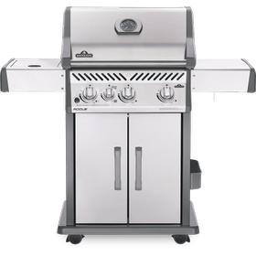 Rogue 425 SIB with Infrared Side Burner , Stainless Steel , Natural Gas