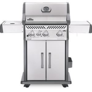Napoleon BBQRogue 425 SIB with Infrared Side Burner , Stainless Steel , Natural Gas