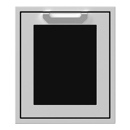 """18"""" Hestan Outdoor Single Access Door - AGADR Series - Stealth"""