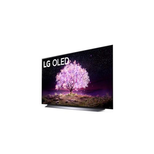 "LG - LG C1 48 inch Class 4K Smart OLED TV w/AI ThinQ® (48.2"" Diag.)"