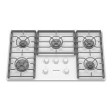 KitchenAid® 36-Inch 5-Burner Gas Cooktop, Architect® Series II - White