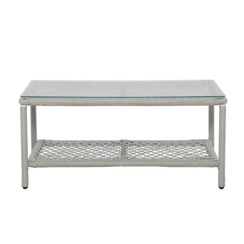 Simple Weave Cocktail Table
