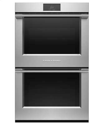 """Double Oven, 30"""", 8.2 cu ft, 17 Function, Self-cleaning"""