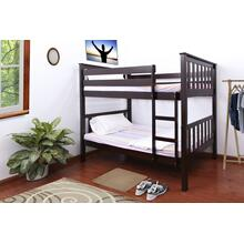 7528 CAPPUCCINO Mission Bunk Bed