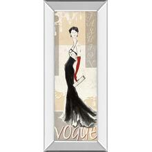 """Vogue"" By Tava Studios Mirror Framed Print Wall Art"