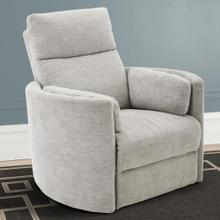 Radius Power Swivel Glider Recliner in Mineral